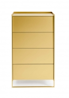Möller Design LEAN BOX K604S Kommode mit 4 Schubkasten Lack matt