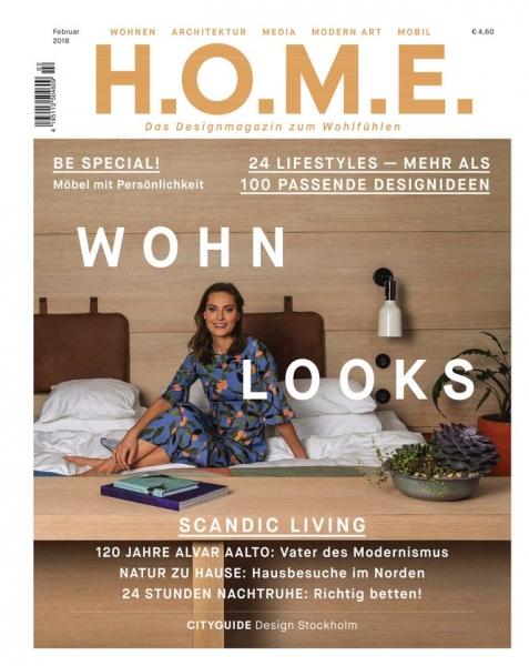 Aktuelle Ausgabe der H.O.M.E. Zeitschrift