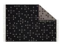 Vitra Eames Wool Blanket Dot Pattern Wolldecke schwarz