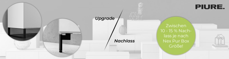 PIURE Nex Pur Box Upgrade oder Preisnachlass