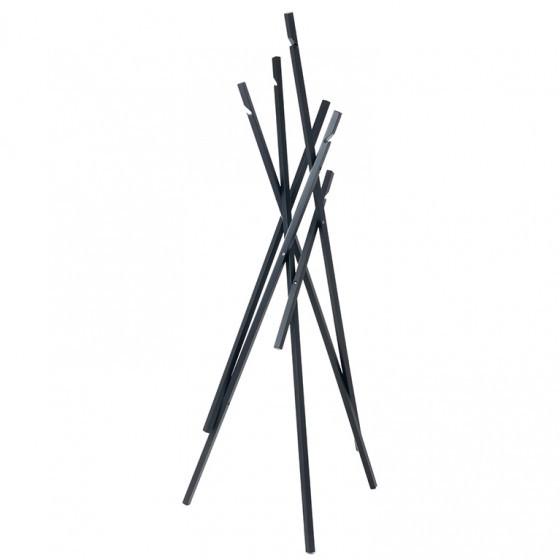 Schönbuch Sticks Garderobenständer (166 cm) schwarz matt