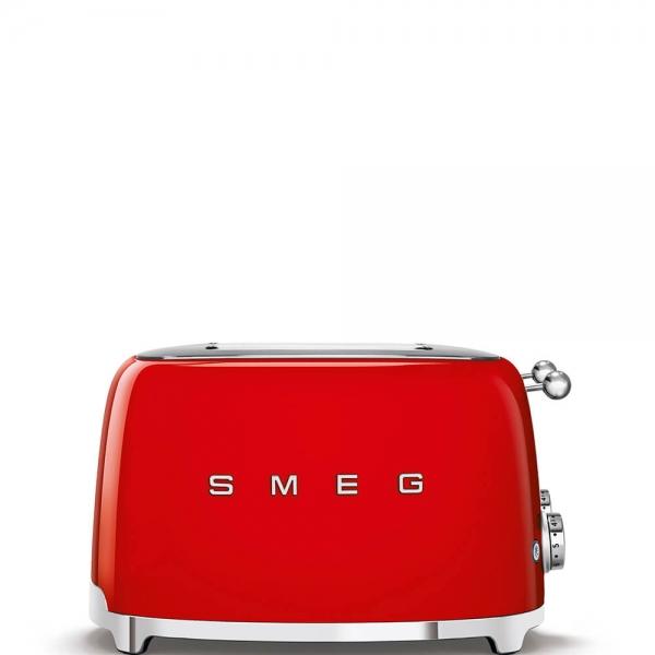 SMEG Retro-Style 4-Scheiben-Toaster TSF03RDEU rot