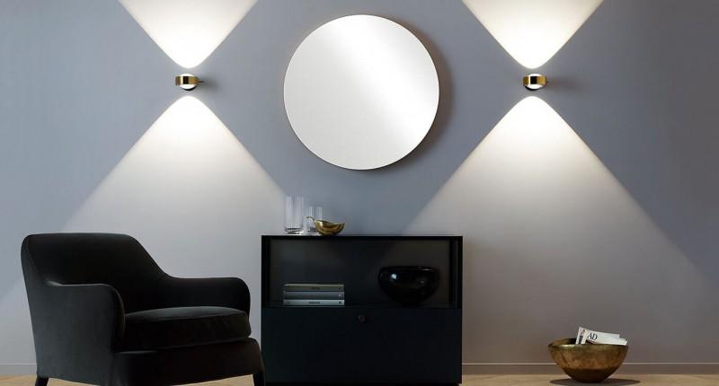 Occhio Sento D LED Verticale Wandleuchte