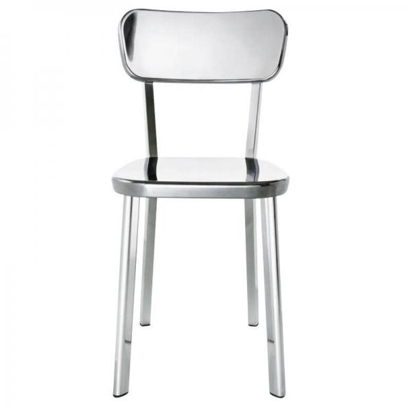 Magis Design Déjà-vu Aluminium-Stuhl aluminium poliert