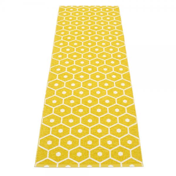 Pappelina Honey Mustard 70x225 Teppich & Badvorleger senf
