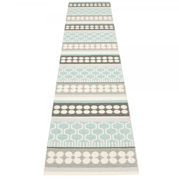 Pappelina Asta Pale Turquoise 70x360 Teppich & Badvorleger t