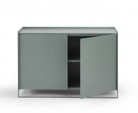 Möller Design LEAN BOX K901ET80 Kommode mit 2 Türen & Fachboden Lack matt