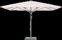 Glatz AG Sonnenschirm FORTELLO® rechteckig, 180 kg Sockel M4 mit Abdeckung, ohne Betoneinsatz