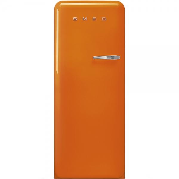 SMEG Retro-Style Standkühlschrank 50er Jahre orange FAB28ROR3 / FAB28LOR3