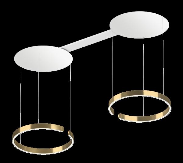 Occhio Mito Sospeso Due 60 Up Variable Air-Steuerung bronze