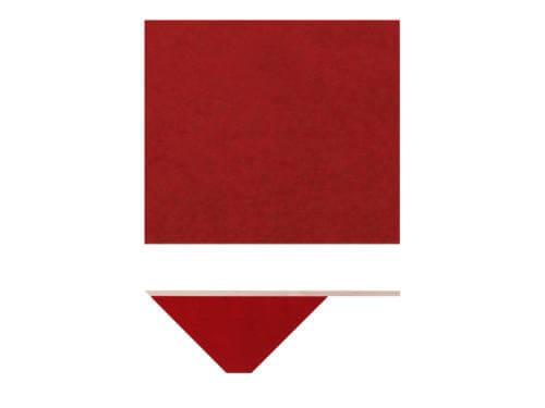 Nils Holger Moormann Bildschirmplatte für Kant Schreibtisch rot