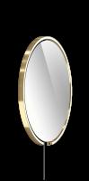 Occhio Mito Sfera Corda 60 Wide mit klarem Spiegel & externes Stromkabel bronze