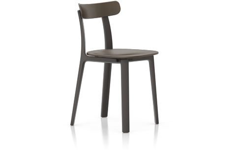 Vitra All Plastic Chair Stuhl braun