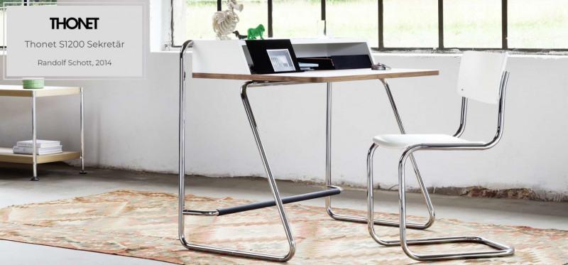 Thonet S1200 Sekretär im Bauhaus Design