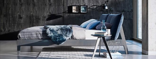 Schlafzimmer - Möller Design MD Alva Holzbett modern