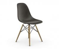 Vitra Eames Fiberglass Side Chair DSW elephant hide grey UG: Ahorn gelblich