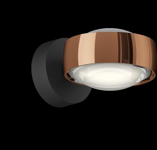 Occhio Sento D LED Verticale Up schwarz matt & rose gold