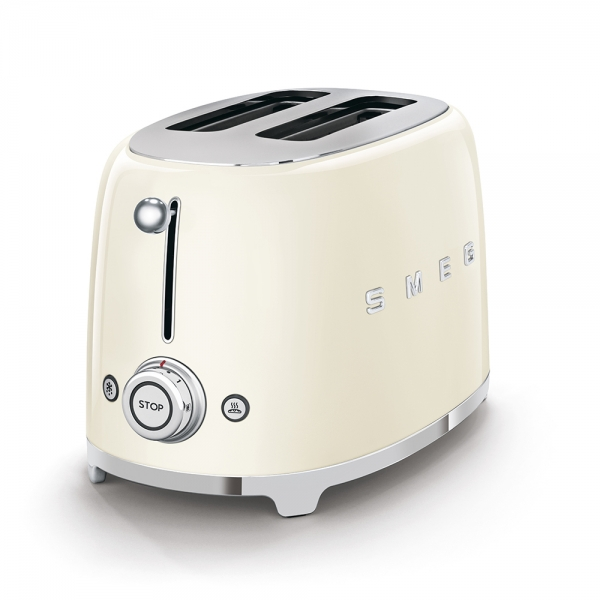 SMEG Retro-Style 2-Scheiben-Toaster crem? TSF01CREU