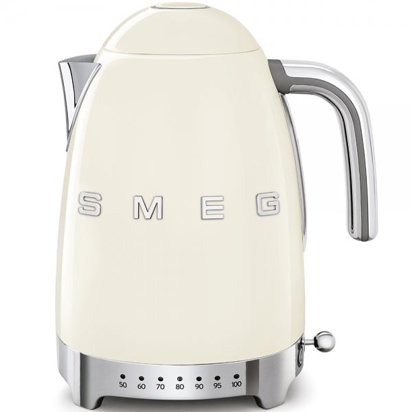 SMEG Retro-Style Wasserkocher variabler Temeratursteuerung 50er Jahre crem? KLF04CREU