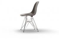 Vitra Eames Fiberglass Side Chair DSR elephant hide grey UG: chrom