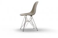 Vitra Eames Fiberglass Side Chair DSR raw umber UG: chrom