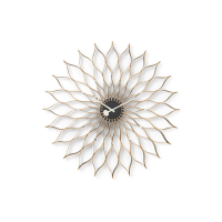 Vitra Sunflower Clock Wanduhr Birke