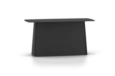 Vitra Metal Side Table Beistelltisch gross schwarz (outdoorfähig)