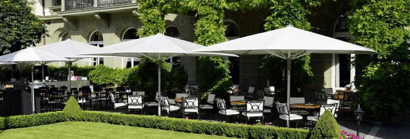 Glatz Castello Pro Sonnschirm fuer Gastronomie oder Luxushotels