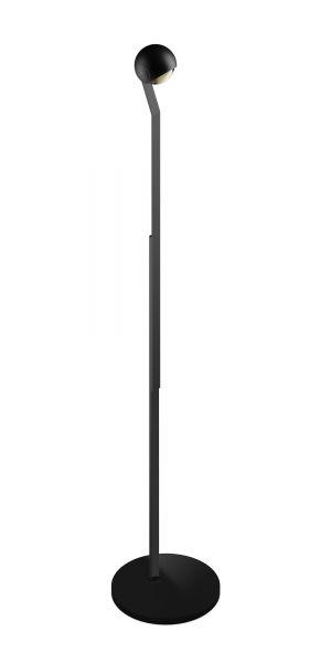 Occhio io LED Lettura Steh- & Leseleuchte schwarz matt
