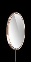 Occhio Mito Sfera Corda 60 Wide mit klarem Spiegel & externes Stromkabel rose gold